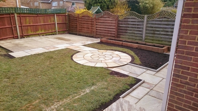 Bespoke paving and patios - Bedford