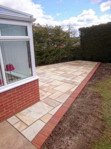 Garden paving Bedfordshire
