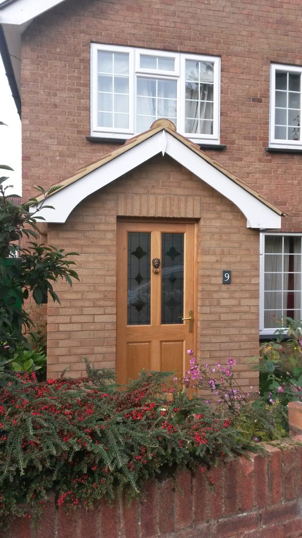 Porches, building work